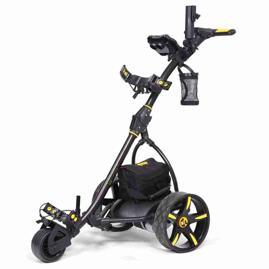 best electric golf push carts